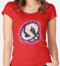 Team Skull Women's Fitted Scoop T-Shirt