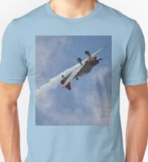 Kempsey Air Show,Australia 2016-Texan VH-WHF inverted  Unisex T-Shirt