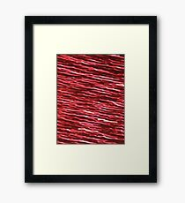 BLOOD PUDDLE (Zombies) Framed Print