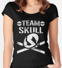 Team Skull / Bullet Club Women's Fitted Scoop T-Shirt