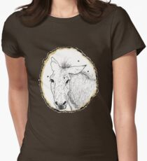 Drawing Flies Women's Fitted T-Shirt