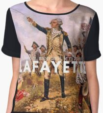 the lancelot of the revolutionary set Chiffon Top