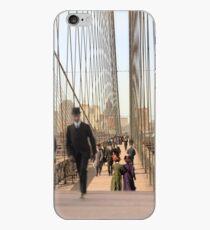 Brooklyn Bridge, New York, 1905 — Colorized iPhone Case