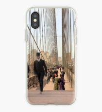 Brooklyn Bridge, New York, 1905 — Colorized iPhone Case
