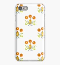 Waffles and Syrup (White) iPhone Case/Skin