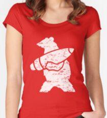 Wojtek the Bear  Women's Fitted Scoop T-Shirt
