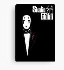 Studio Ghibli Godfather Canvas Print