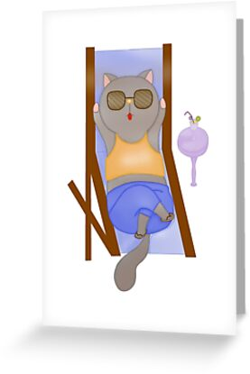 Cat series- vacation by Ruei-Shin Tsai