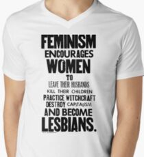 Feminism in Black & White T-Shirt