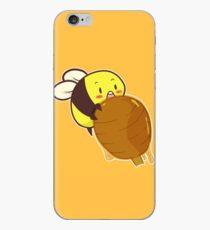 Cute Bee with Honey iPhone Case