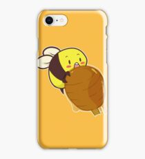 Cute Bee with Honey iPhone Case/Skin