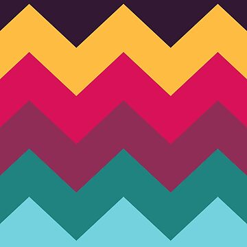 Colorful Chevron by yosard