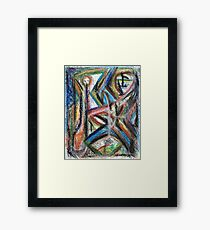 Untitled Figure Framed Print