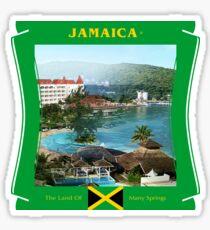 Jamaika - Das Land vieler Quellen Sticker
