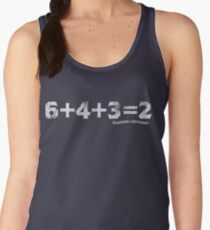 6+4+3=2 Women's Tank Top