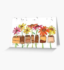 Happy Daisies to Make You Smile Greeting Card