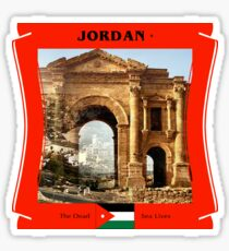 Jordan - The Dead Sea Lives Sticker