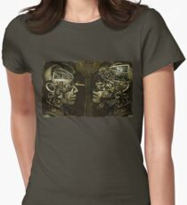 Victorian Steampunk  Women's Fitted T-Shirt