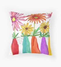 Flowers for Hope Throw Pillow
