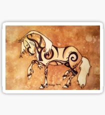 The Year of the Horse Sticker