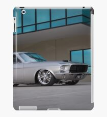67 Ford Mustang Fastback iPad Case/Skin