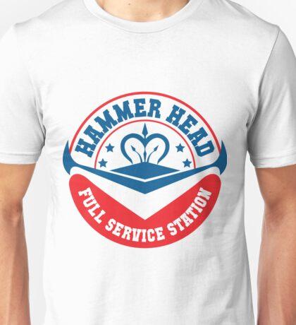 Hammer Head Garage - Full Service Station Unisex T-Shirt