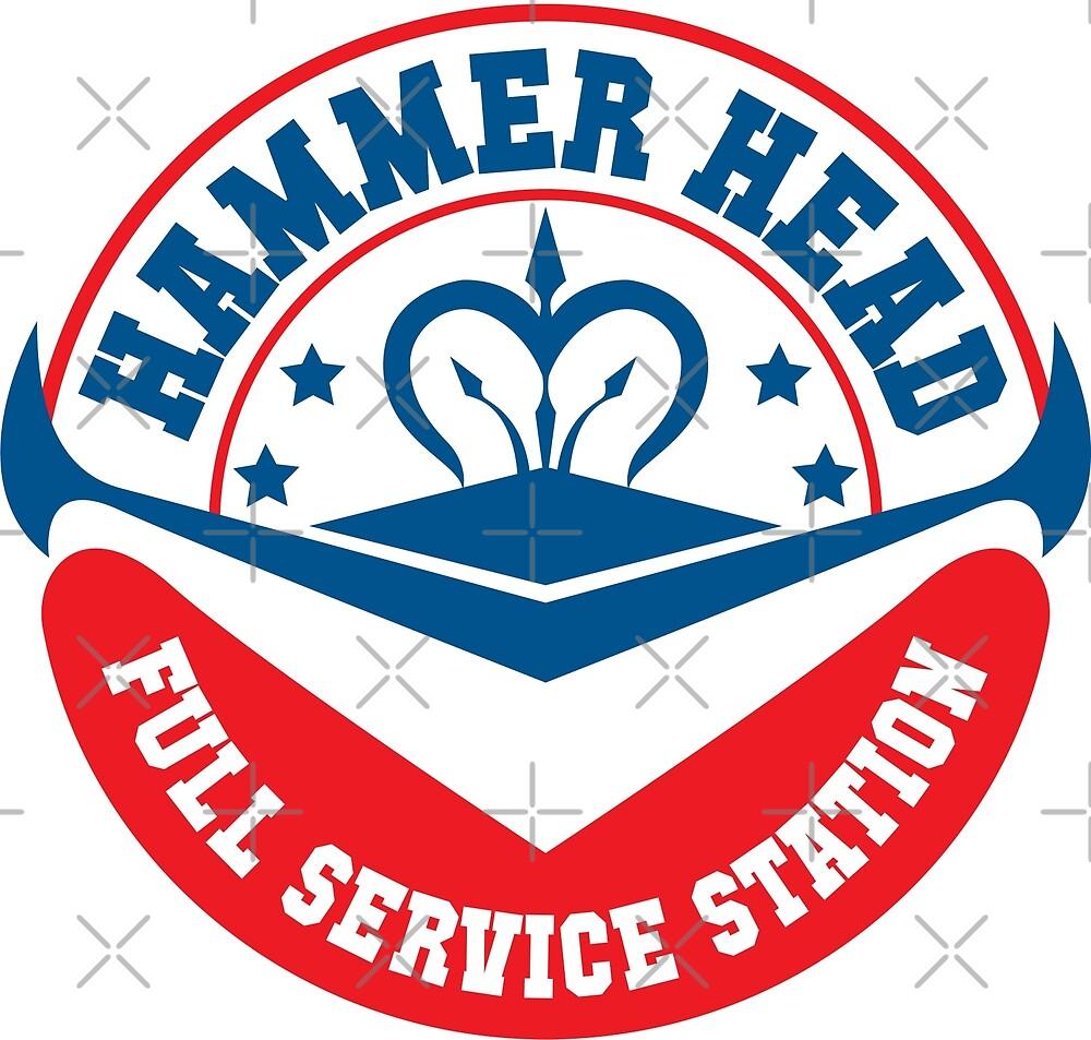 Hammer Head Garage - Full Service Station by floatingdisc