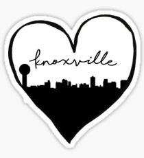 Knoxville, Tennessee City Love Sticker