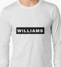 WILLIAMS Long Sleeve T-Shirt