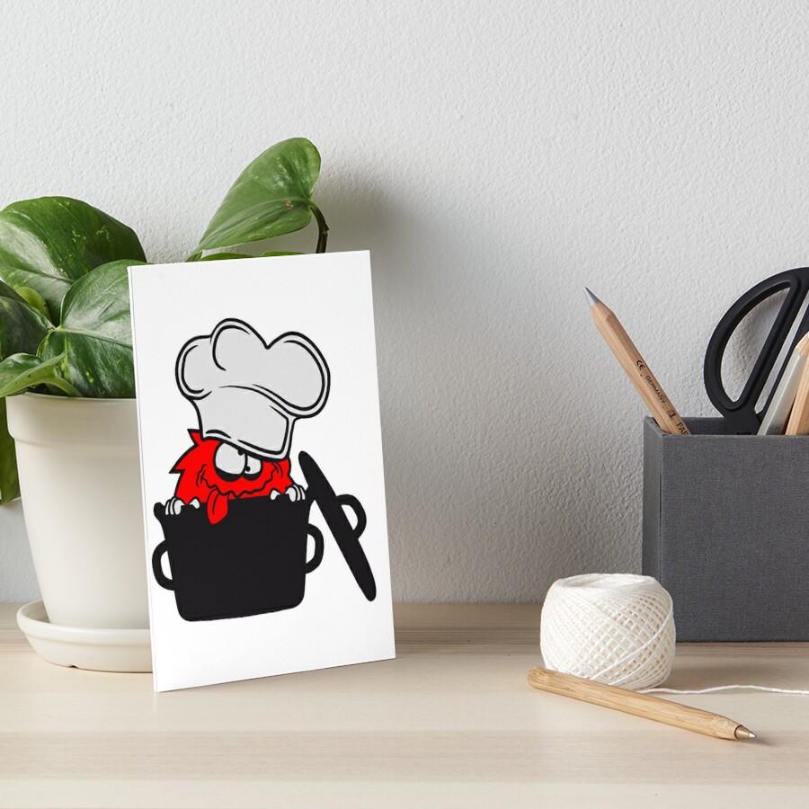 koch hunger topf kochen essen lecker sch rze chef k che bescheuert haarig monster wuschelig. Black Bedroom Furniture Sets. Home Design Ideas