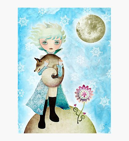 Wintry Little Prince T-Shirt Photographic Print