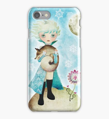 Wintry Little Prince T-shirt iPhone Case/Skin