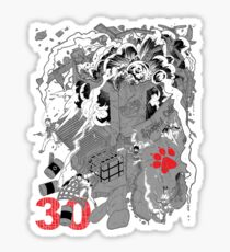 Naughty Dog 30th Anniversary - Chaos Sticker
