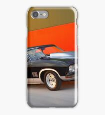 Black Ford XB GT Coupe iPhone Case/Skin