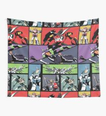 Super Robots Wall Tapestry