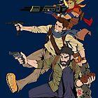 Naughty Dog - Drake, Joel, Jak by KentaroPJJ