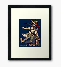 Naughty Dog - Drake, Joel, Jak Framed Print