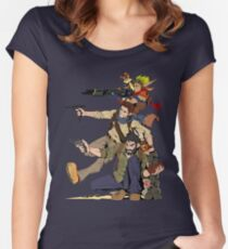 Naughty Dog - Drake, Joel, Jak Women's Fitted Scoop T-Shirt