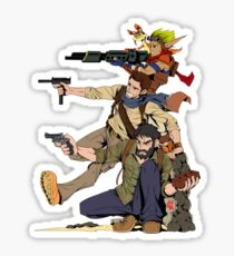 Naughty Dog - Drake, Joel, Jak Sticker