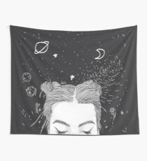 TUMBLR GIRL SPACE Wall Tapestry