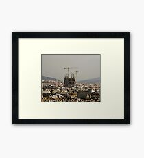 """Church of Perpetual Construction"" (Sagrada Familia) Framed Print"