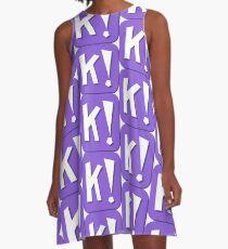 Kahoot! - Icon Design A-Line Dress