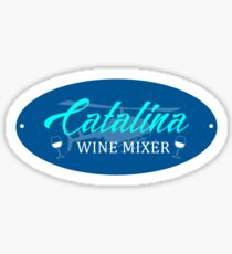 Catalina Wine Mixer Step Brothers Movie Sticker