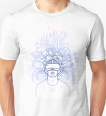 Graphic man in virtual reality glasses T-Shirt