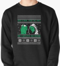Funny Kermit Ugly Christmas Sweater Pullover