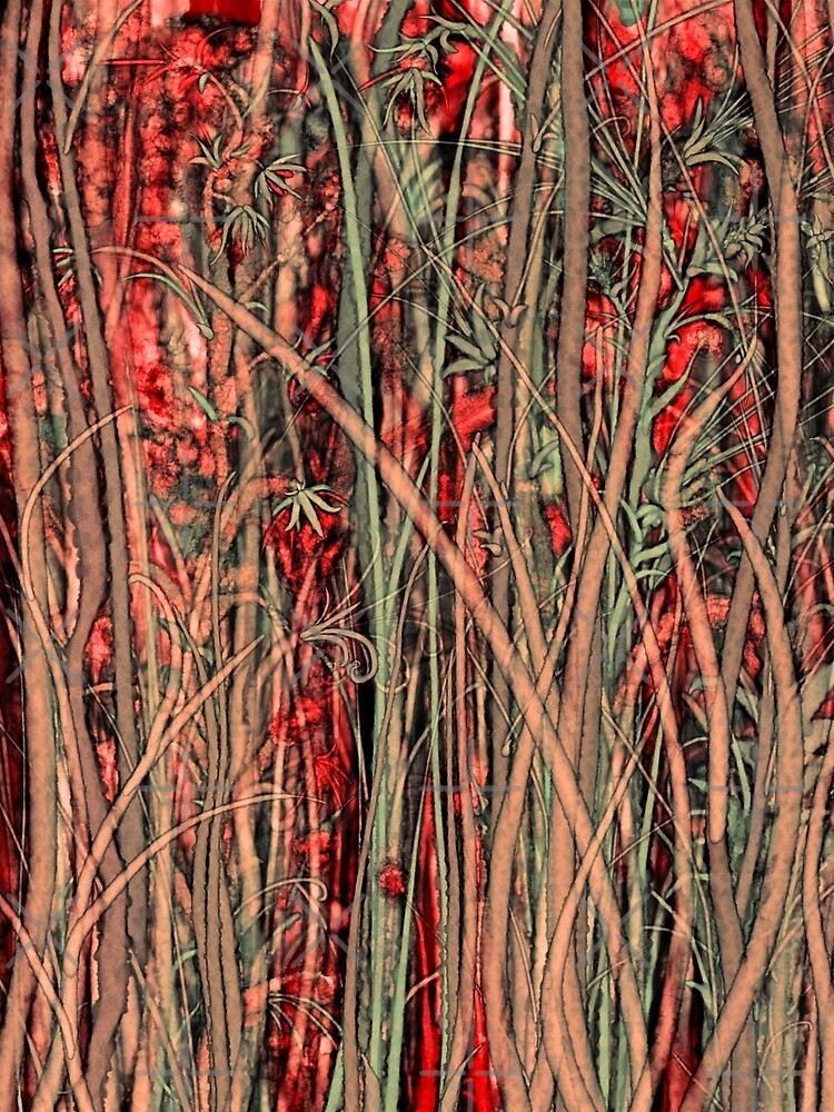 Qualia's Grass (Antique Red) by Kightleys