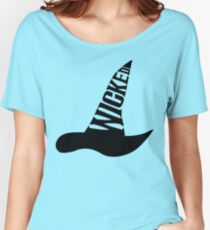 Wicked - in BLACK Women's Relaxed Fit T-Shirt