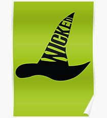 Wicked - in BLACK Poster