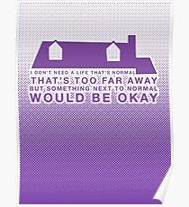 Next To Normal - House Poster