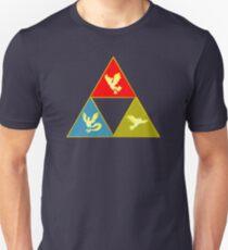 Kanto's Legendary Triforce 2.0 T-Shirt